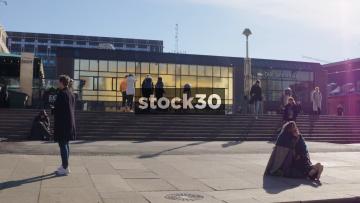 Oslo Sentralstasjon Railway Station, Norway