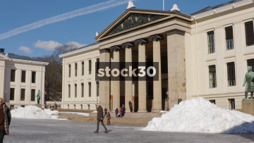 The University Of Oslo Campus, Two Angles, Norway