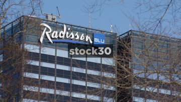 The Radisson Blu Hotel In Oslo, Close Up And Wide, Norway