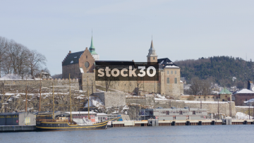 Akershus Fortress Is Oslo, Norway