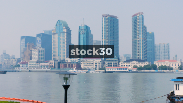 The Hyatt On The Bund And The Shanghai Bund International Tower, China