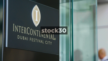 The InterContinental And Crowne Plaza Hotels At Dubai Festival City, UAE