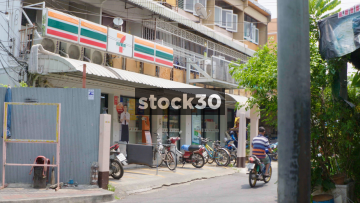 A 7 Eleven Store In Bangkok, Thailand