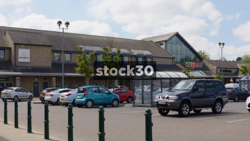 Morrisons Supermarket Leeds Kirkstall Exterior Wide, UK