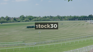 Chester Race Course Slow Pan, UK