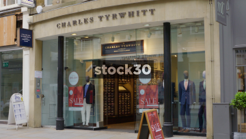 Charles Tyrwhitt On King Street In Manchester, UK