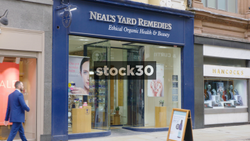 Neal's Yard Remedies On King Street In Manchester, UK