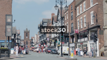 Chester Town Centre And Shops, UK
