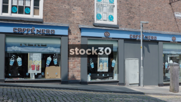Caffe Nero Coffee Shop In Chester, UK