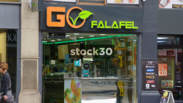Go Falafel On Deansgate In Manchester, UK