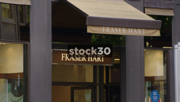 Fraser Hart Jewellers On St.Ann's Street In Manchester, UK