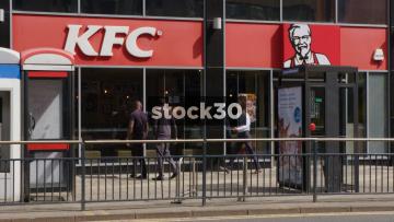 KFC On Merrion Street In Leeds, UK