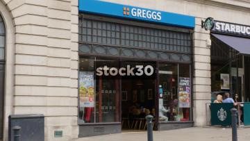 Greggs Bakery On The Headrow In Leeds, UK
