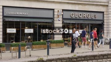 George's Restaurant On The Headrow In Leeds, UK