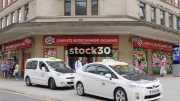 CEX - Complete Entertainment Exchange On The Headrow In Leeds, UK