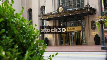 The Deloitte Offices In Atlanta, USA