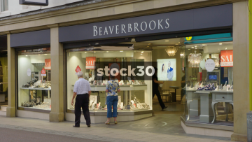 Beaverbrooks Jewellers On Commercial Street In Leeds, UK