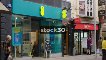EE And Virgin Media Shops On Commercial Street In Leeds, UK