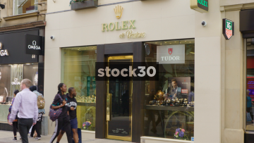 Rolex At Prestons Jewellers On Commercial Street In Leeds, UK