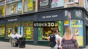 The Body Shop At Albion Place In Leeds, UK