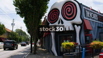 The Vortex Bar And Grill On Moreland Avenue In Atlanta, USA
