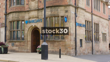 Barclays Bank On London Road In Alderley Edge, Cheshire, UK