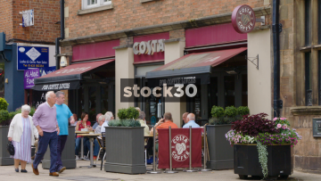 Costa Coffee On London Road In Alderley Edge, Cheshire, UK