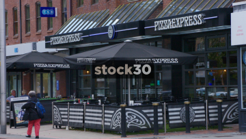 Pizza Express In Wilmslow, UK