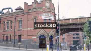 Manchester Deansgate Knott Mill Station, UK