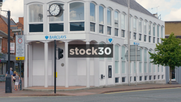 Barclays Bank In Wilmslow, UK