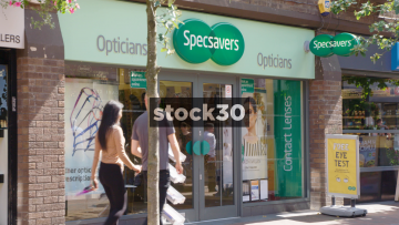 Specsavers Opticians In Wilmslow, UK