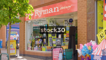 Ryman Stationery In Wilmslow, UK