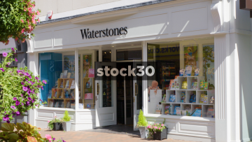 Waterstone's Book Store In Wilmslow, UK