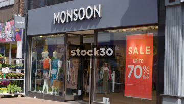 Monsoon Clothes Shop In Wilmslow, UK