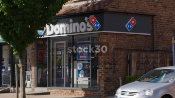 Domino's Pizza In Wilmslow, UK