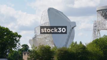 The Mark II Radio Telescope At Jodrell Bank Observatory In Cheshire, UK