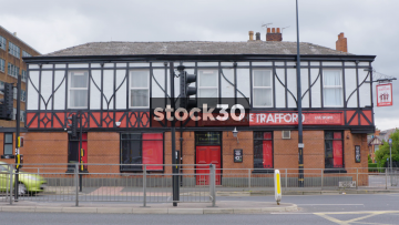 The Trafford Sports Bar And Pub In Manchester, UK