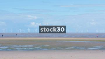 Burbo Bank Offshore Windfarm Near Liverpool, UK
