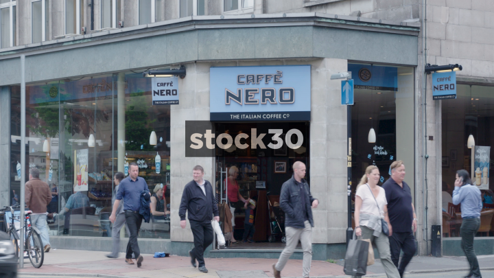 Caffe Nero Coffee Shop Piccadilly Station Manchester Uk