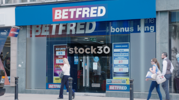 Betfred On Deansgate In Manchester, UK