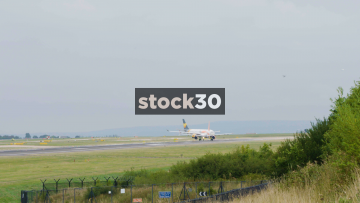 EasyJet Airbus A319-111 Taking Off At Manchester Airport, UK
