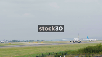 Thomas Cook Airbus A330-243 Taking Off At Manchester Airport, UK