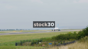Air Transat Airbus A330-243 Taking Off At Manchester Airport, UK