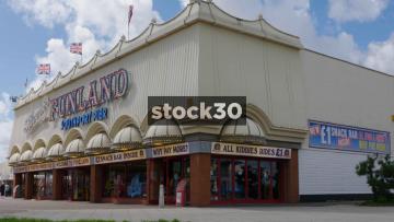 Silcocks Funland Amusement Arcade At Southport Pier, UK