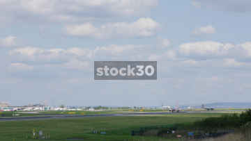 Jet 2 Boeing 737-8K2 Taking Off From Manchester Airport, UK