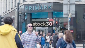 Primark Manchester Market Street Entrance, UK
