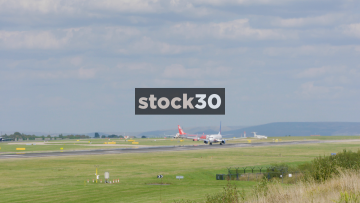 Jet2 Boeing 737-804 Taking Off From Manchester Airport, UK