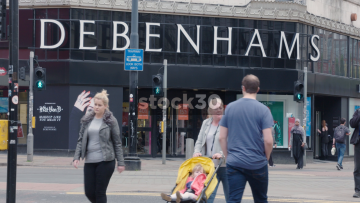 Debenhams Manchester Market Street Entrance, UK