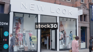 New Look On Market Street In Manchester, UK