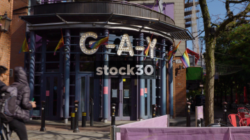 G-A-Y Bar On Canal Street In Manchester, UK